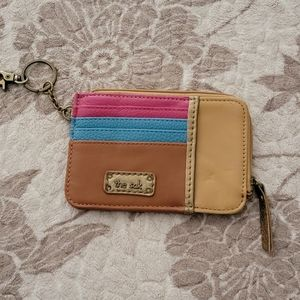 The Sak leather ID wallet